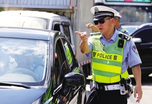 后排不系安全带 珠海交警正式开罚单
