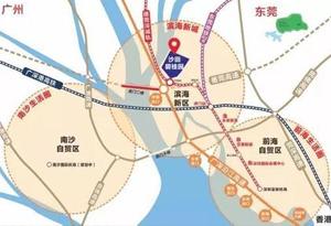 """东莞将出资8.29亿元 """"扮靓""""广深高速创新带"""