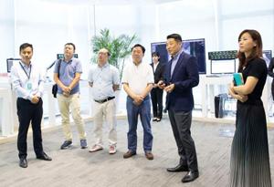 广东省养老服务业协会秘书长董克义率队调研康美健康云