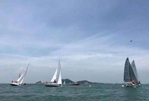 2018年粤港澳大湾区帆船赛在珠海举行