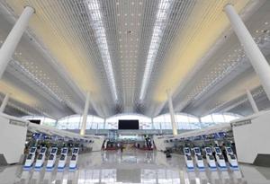 白云国际机场二号航站楼 广州文化新地标