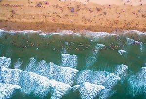 碧海蓝天细沙 与大海来一次美丽邂逅